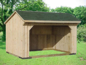 Picture of Horse Run-In Stalls Fleetwood, PA  - Eastern Building Products