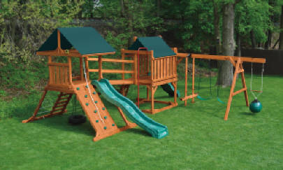 Swingsets Reading Fleetwood Pa Eastern Building Products